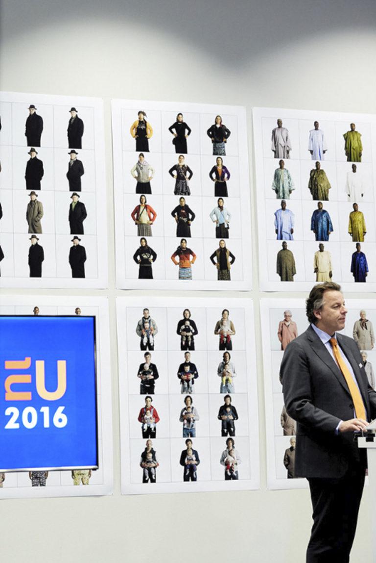 Europe by people, Dutch Art in 'Het Europa gebouw'