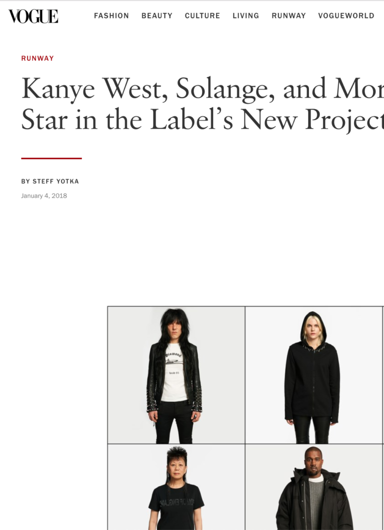 Helmut Lang Collectors Star in the Label's New Project